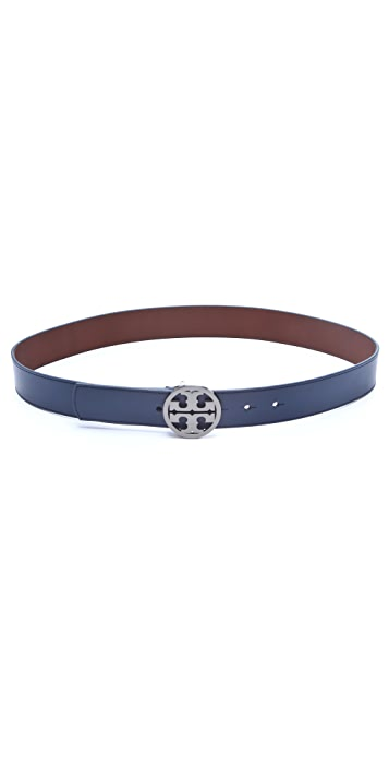 Tory Burch Robinson Logo Belt