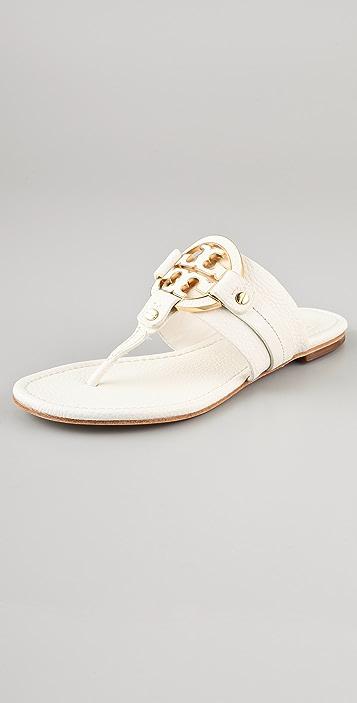 85800fa9b90d Tory Burch Amanda Flat Thong Sandals