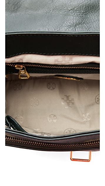 Tory Burch Suede 797 Medium Satchel