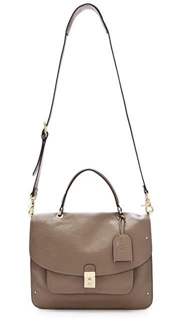 Tory Burch Priscilla Top Handle Cross Body Bag