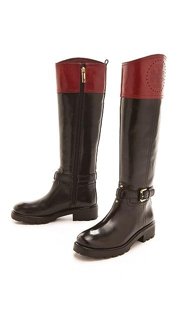 Tory Burch Daniella Riding Boots