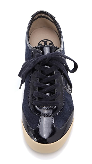 Tory Burch Murphey Two Tone Sneakers