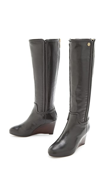 Tory Burch Irene Wedge Boots