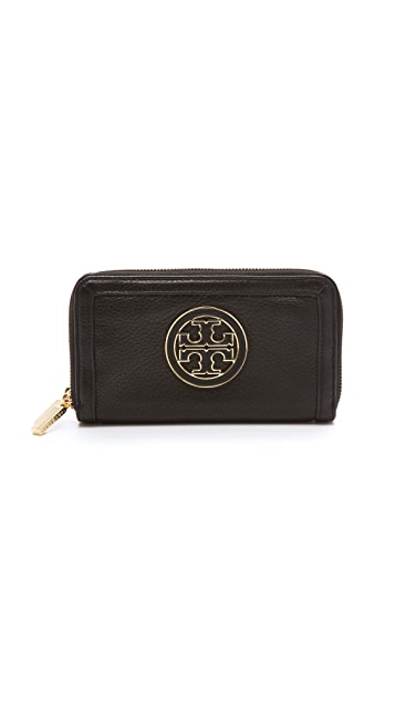 Tory Burch Amanda Double Zip Continental Wallet