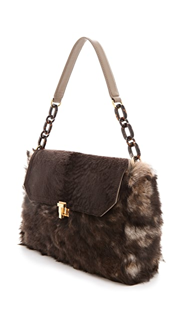 Tory Burch Grace Shearling Bag
