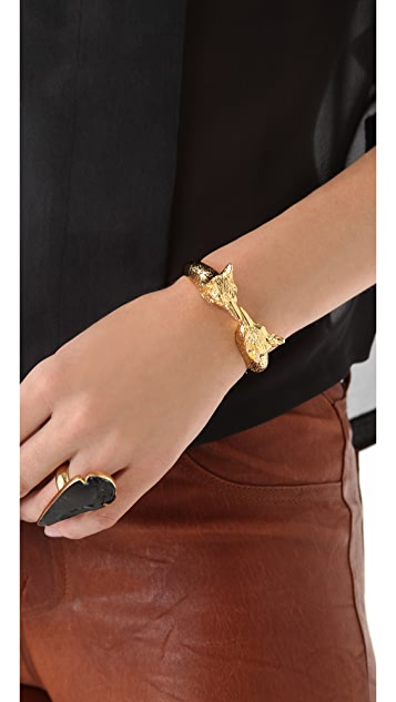 Tory Burch Fox Head Bracelet