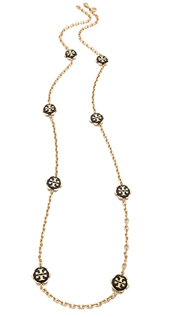 Tory Burch Walter Rosary Necklace