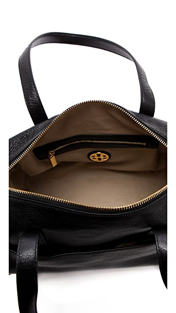 Tory Burch Perforated Logo Satchel