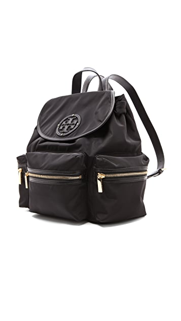 Tory Burch Stacked Logo Backpack