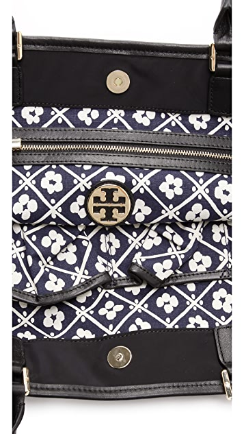 Tory Burch Stacked Logo Tote