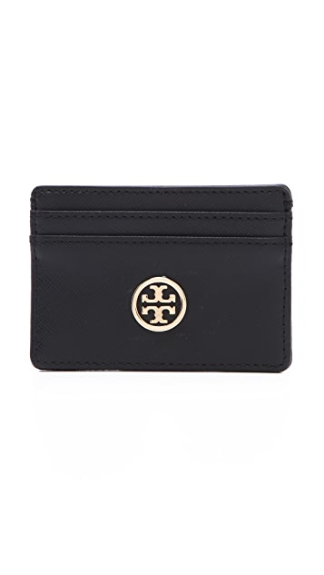 Tory Burch Robinson Slim Card Case
