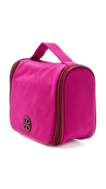 Tory Burch Stacked Logo Wash Bag