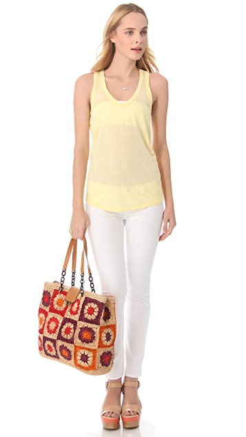 Tory Burch Fache Large Tote