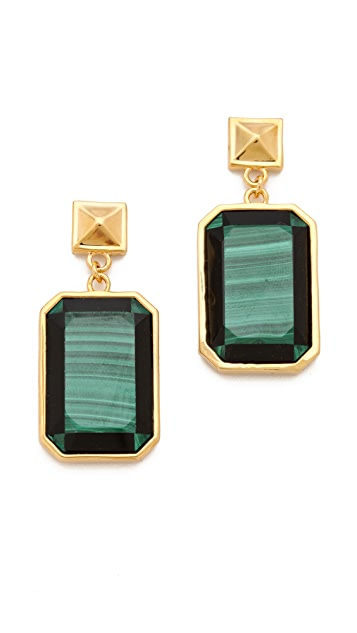 Tory Burch Pietra Doro Earrings