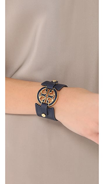 Tory Burch Wide Logo Cuff