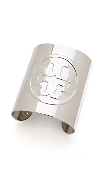 Tory Burch Metallic Logo Cuff