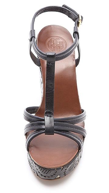 Tory Burch Ida Wedge Sandals