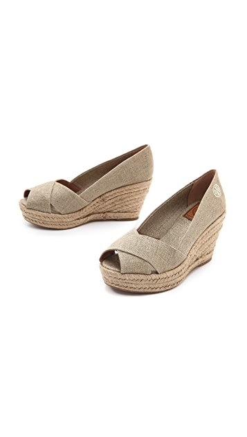 Tory Burch Filipa Wedge Espadrilles
