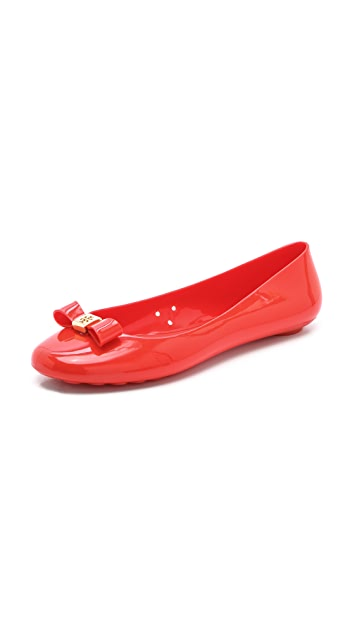 8b28d21bc76 Tory Burch Jelly Bow Ballet Flats | SHOPBOP