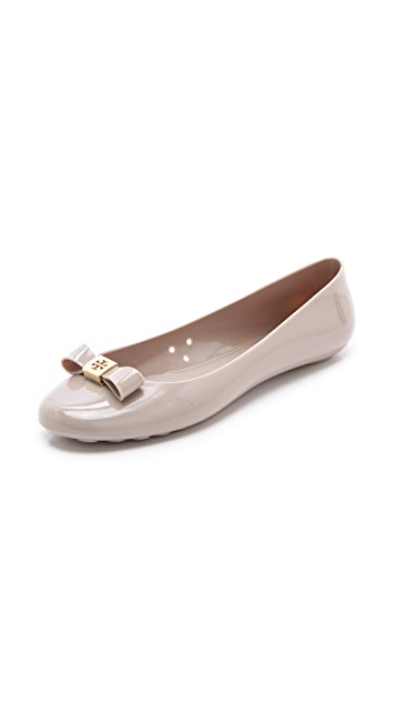 Tory Burch Jelly Bow Ballet Flats
