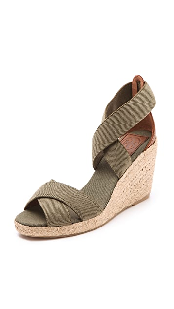 Tory Burch Adonis Lower Wedge Espadrilles