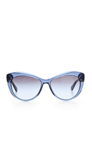 Tory Burch Oversized Cat Eye Sunglasses