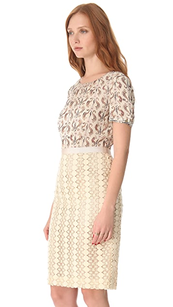 Tory Burch Adelaide Seahorse Dress