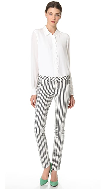 Tory Burch The Marlien Legging Jeans
