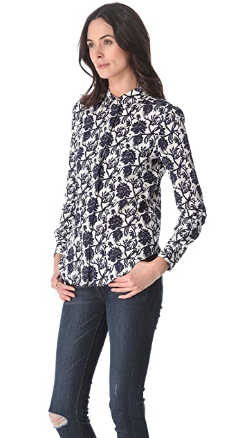 Tory Burch Evelin Button Down Shirt