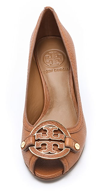 Tory Burch Amanda Open Toe Wedges