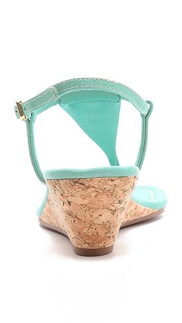 Tory Burch Britton Wedge Thong Sandals