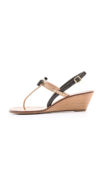 7882ed417411 ... Tory Burch Kailey Wedge Thong Sandals ...