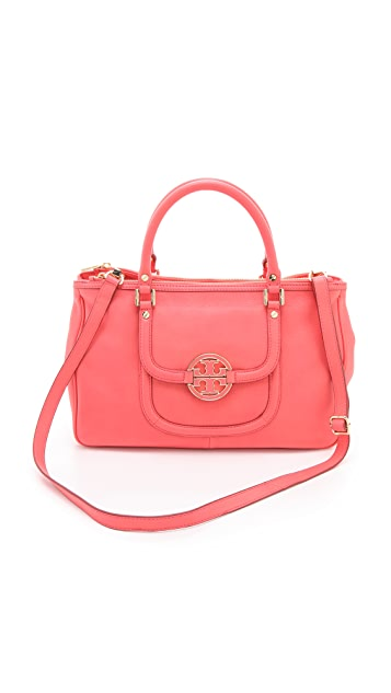Tory Burch Amanda Double Zip Satchel
