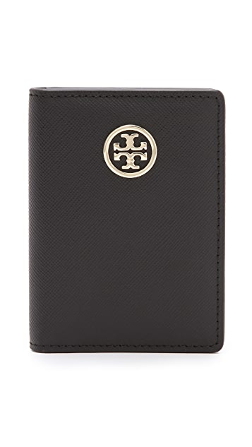 Tory Burch Robinson Transit Pass Holder
