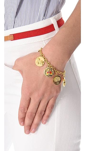 Tory Burch Buddy Charm Bracelet