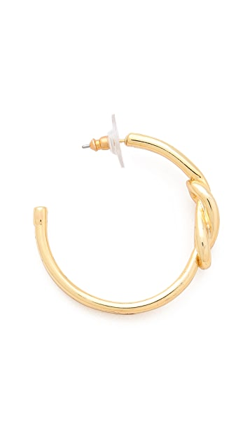 Tory Burch Hercules Small Hoop Earrings