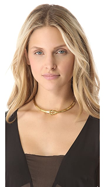 Tory Burch Hercules Single Knot Collar