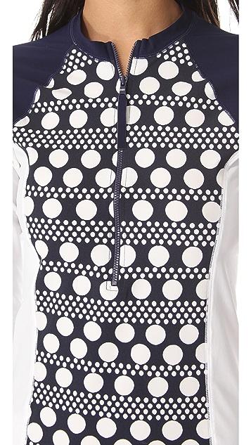 Tory Burch Darby Paloma Surf Shirt