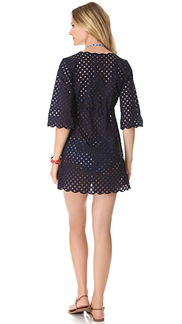 Tory Burch Luna Tunic Cover Up