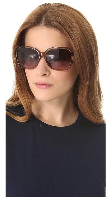 Tory Burch Classic Logo Sunglasses
