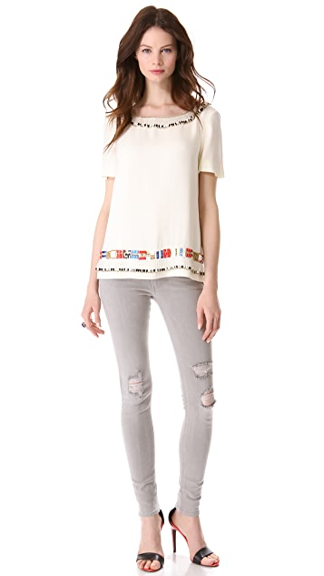 Tory Burch Jace Top