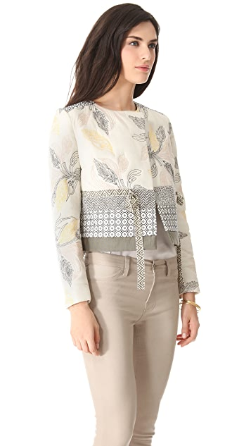 Tory Burch Ninian Quilted Jacket