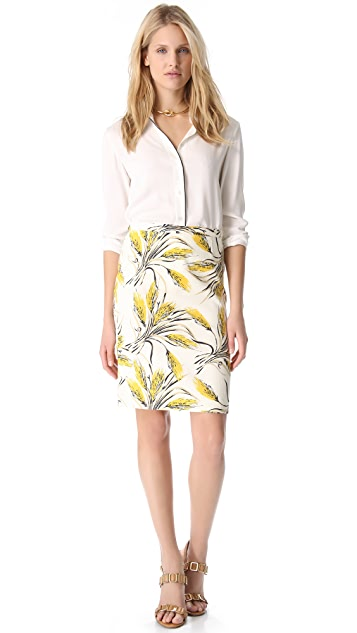 Tory Burch Jules Printed Skirt