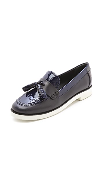 Tory Burch Careen Loafers with Contrast Sole