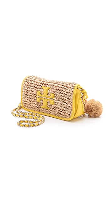 Tory Burch Thea Straw Mini Bag