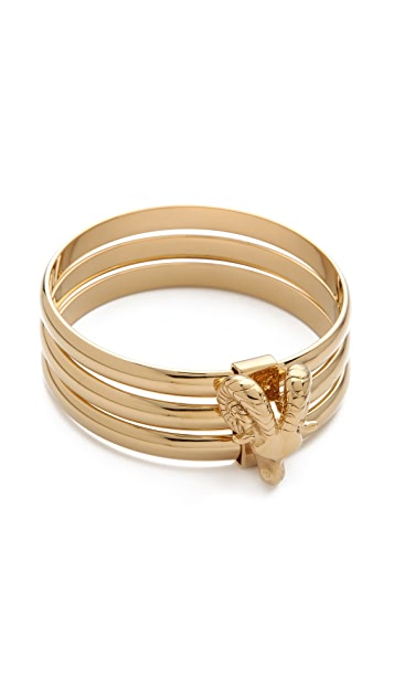 Tory Burch Ram Head Stacking Bangle