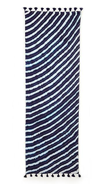 Tory Burch Tie Dye Scarf