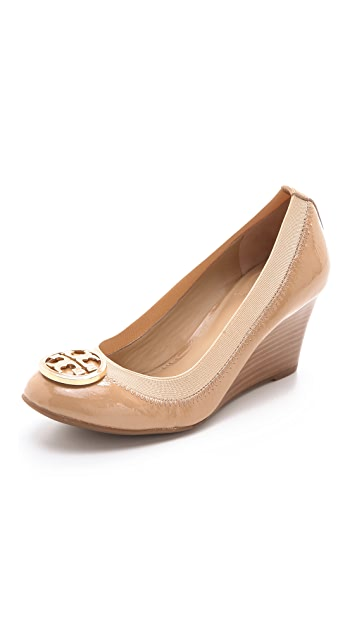 71b0817c08901 Tory Burch Caroline Wedge Pumps