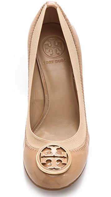 Tory Burch Caroline Wedge Pumps
