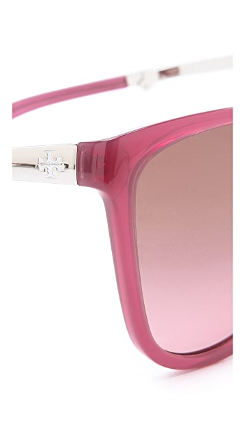 Tory Burch Modern Foldable Sunglasses